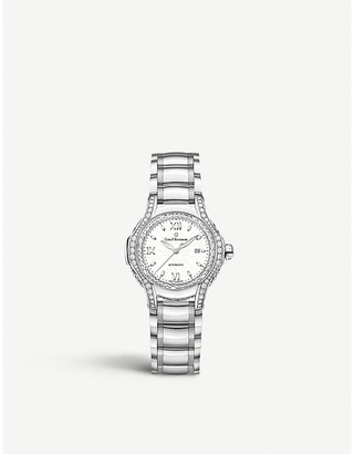 Mother of Pearl CARL F BUCHERER 00.10580.08.25.31.01 Pathos Diva mother-of-pearl diamonds and sapphire crystal watch