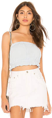 bc3c0441c1 Light Blue Cropped Top - ShopStyle
