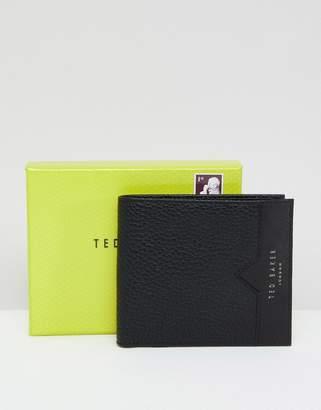 Ted Baker Looeze Bifold Wallet in Pebble Grain Leather