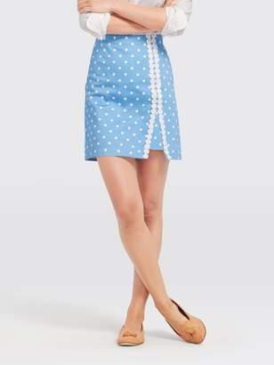 Draper James Polka Dot Skirt