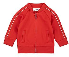Molo Kids Infants' Deep Cotton-Blend Track Jacket - Red