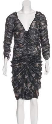 Isabel Marant Silk Knee-Length Dress w/ Tags