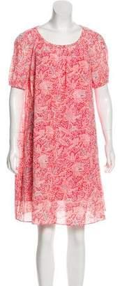 Tory Burch Knee-Length Printed Dress