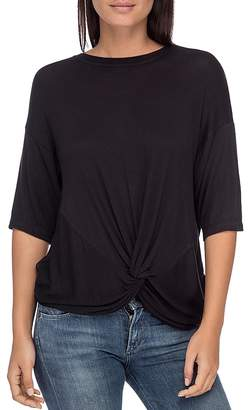 Bobeau B Collection by Niky Twist-Front Top