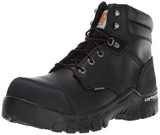 Carhartt Men's CSA 6-inch Rugged Flex Wtrprf Work Boot Comp Safety Toe CMR6971 Industrial