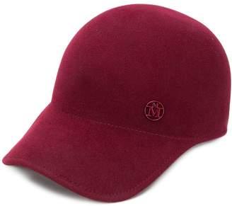 Maison Michel logo plaque baseball cap