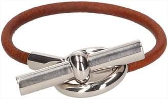 Hermes Glenan leather bracelet