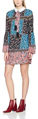 Endless Rose Women's Poplin Collar Patchwork Floral Print Dress Manchester Great Sale For Sale 2EC1rWc