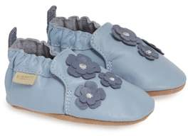 Robeez R) Indy Blossom Moccasin Crib Shoe