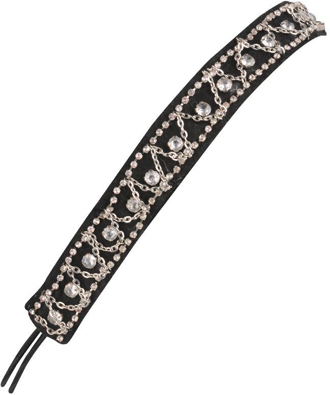 Faux Diamond Headband