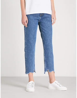 Tommy Jeans Izzy high-rise straight jeans
