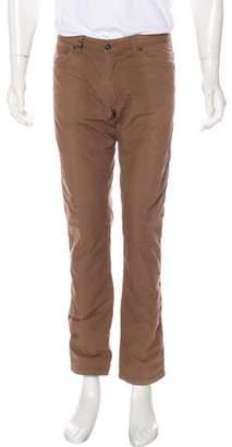 Salvatore Ferragamo Flat Front Pants