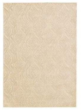 Kathy Ireland Home Hollywood Shimmer Paradise Cove Rug Collection- Bisque