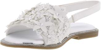 Kenneth Cole Reaction Brie Crystal Flower Slingback Sandal