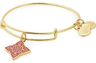 Alex and Ani Women Red Bangle of Length 6cm A18EBCRSG