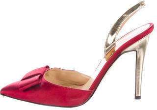 Kate Spade Kate Spade New York Satin Slingback Pumps