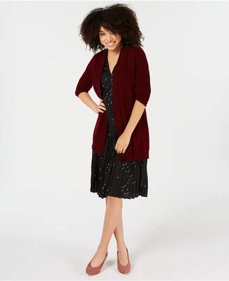Charter Club Pure Cashmere Duster in Regular & Petite Sizes