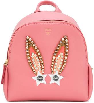 MCM Polke Star Bunny studded backpack