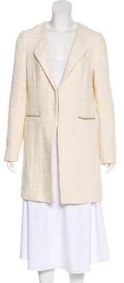 Gerard Darel Metallic Tweed Coat