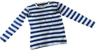 Jean Paul Gaultier White / Blue Cotton Knitwear & Sweatshirts