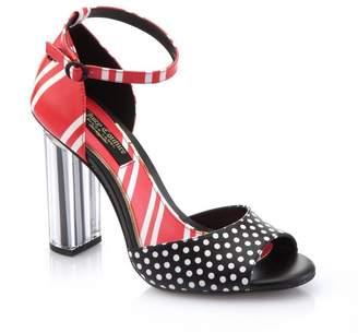 56c6878aef4 Juicy Couture Irina Printed Leather Heel