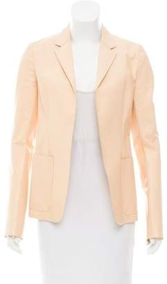 Reed Krakoff Tailored Faux Leather Blazer