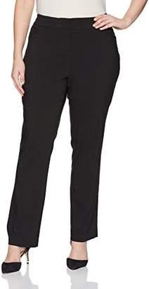 Briggs Women's Plus Size New York Split Waist Pant