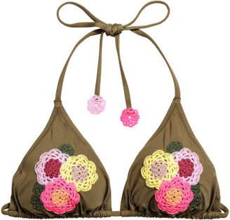 H&M Triangle Bikini Top - Beige