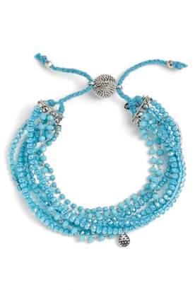 Serefina Multi Strand Crystal Bracelet