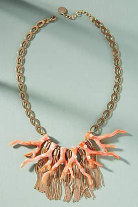 Anton Heunis Coral Reef Bib Necklace