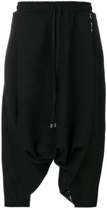 Alchemy cropped drawstring trousers