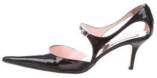 Michael Kors Pointed-Toe Mary Jane Pumps