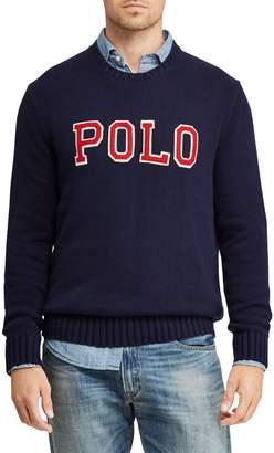 Polo Ralph Lauren Big Tall Patch Cotton Sweater