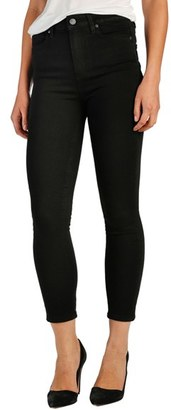 Women's Paige Transcend - Margot High Waist Crop Ultra Skinny Jeans $179 thestylecure.com