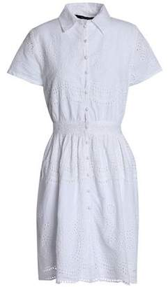 Walter W118 By Baker Sunny Broderie Anglaise Cotton Mini Dress