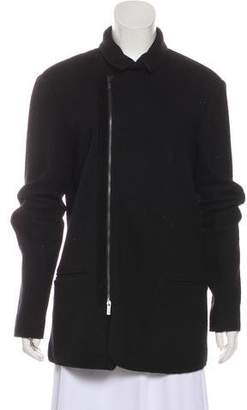 Armani Collezioni Wool Short Coat
