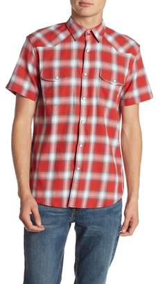 Lucky Brand Short Sleeve Western Shirt