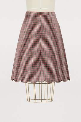 RED Valentino Houndstooth skirt