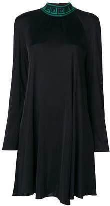 Versace Grecca collar dress