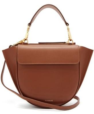 Wandler Hortensia Mini Leather Cross Body Bag - Womens - Tan