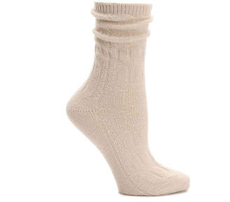 BearPaw Cable Crew Socks - Women's