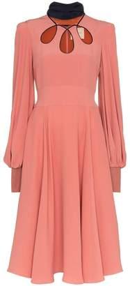 Roksanda Adena Silk Midi-Dress