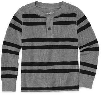 Arizona Boys Thermal Henley T-Shirt