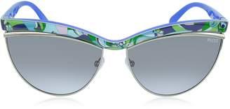 Emilio Pucci Ep0010 Fantasy Acetate Cat Eye Women's Sunglasses