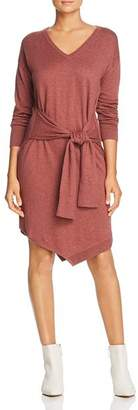 Kenneth Cole Tie-Waist Sweater Dress