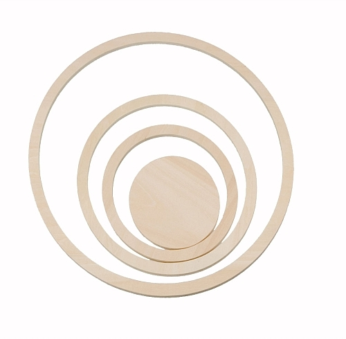 Glenna Jean Wall Circles (Set of 4)