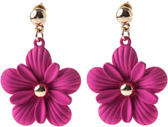 earrings spade tradesy studs i crystal kate fuschia