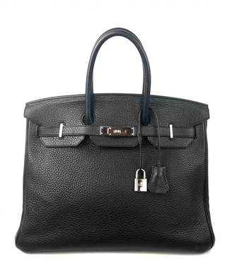 Hermes Birkin 35 leather tote