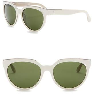 Balenciaga 55mm Oversized Sunglasses