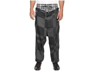 Vivienne Westwood Cubist Check Builder Trousers Men's Casual Pants